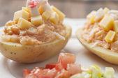 Potato salad series 05 — Stock Photo