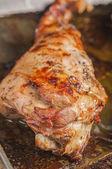 Roast lamb series 06 — Stock Photo