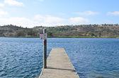 Pier at the Lake — Stock Photo