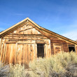 Stock Photo: Old Wooden Jail in Ghost Town