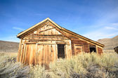 Old Wooden Jail in Ghost Town — Stock Photo