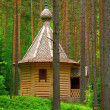 Small church in the forest — Stock Photo