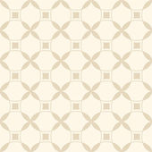 Beige seamless geometric pattern — ストックベクタ