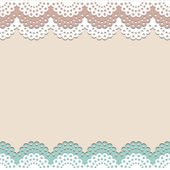 Seamless lace vector background — Stock Vector