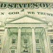 American Dollar In God We Trust Inscription Highlighted — Stock Photo #30873275
