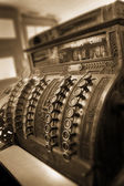 Old Fashioned Cash Register — Stock Photo