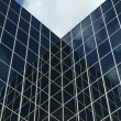 Glass covered business office building — Stock Photo
