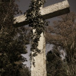 Limestone cross — Stock Photo