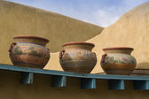 Three pots — Stock Photo