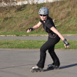 Inline Skating Woman — Stock Photo