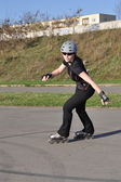 Inline Skating Woman — Photo