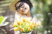 Portraits of girl — Stock Photo
