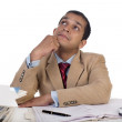 Young Business Executive at Work and deep in thoughts. — Stock Photo #31955859