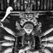 Durga Puja : An Indian Deity — Stock Photo