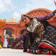 Folk Dancers at SurajKund Craft Fair — Stock Photo