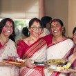 "Durga Puja 2013 : ""Sindoor Khela"" on the Day of Dashami — Stockfoto"