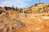 Geological landscape — Stock Photo