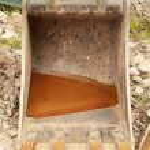 Excavator bucket — Stock Photo #48065681