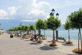Garda lake — Stock Photo