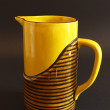 70s pitcher hand made. — Stock Photo