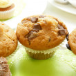 Chocolate chip muffins   — Stock Photo