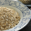 Oats or oatmeal — Stock Photo