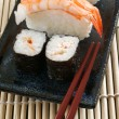 Maki & nigiri sushi — Stock Photo