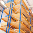 Stock Photo: Storage racks
