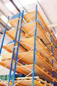 Storage racks — Stock Photo