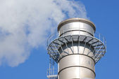 Industrial chimney — Stock Photo