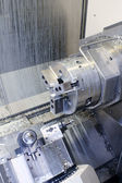 CNC Milling Machine — Stock Photo