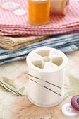 針と糸 — ストック写真