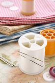 Sewing kit — Stock Photo