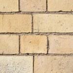 Yellow bricks and mortar — Stock Photo #31254289