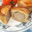 Stock Photo: Pork pies