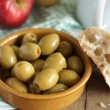 Stock Photo: Pimento stuffed olives