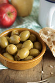 Pimento stuffed olives — Stock Photo