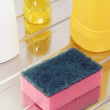 Stock Photo: Nylon pscourer