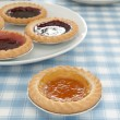 Jam Tarts — Stock Photo