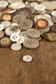 Old fashioned Buttons — Stock Photo