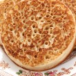 Toasted crumpets — Stock Photo