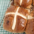 Stock Photo: Hot Cross Buns