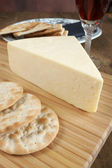 Wensleydale cheese — Stock Photo
