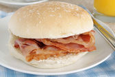 Bacon Sandwich — Stock Photo