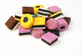 Liquorice Allsorts — Stock Photo