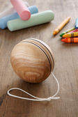 Wooden Yoyo — Stock Photo
