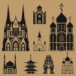 Cathedrals and churches — Stock Vector #36968103