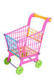 Shopping Cart toy isolated — Stock Photo