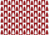 Christmas trees pattern, background — Stock vektor