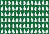 Christmas trees pattern, background — Stockvektor